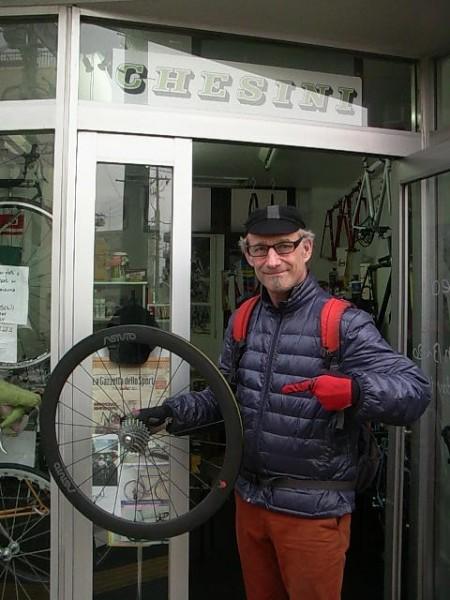G.S.Astuto carbon wheel!